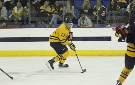 No. 8 Men's Ice Hockey to Square Off with No. 1 UMass Friday Night