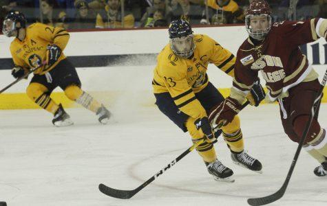 No. 9 Men's Ice Hockey Stays Hot, Defeats No. 19 Princeton 3-0