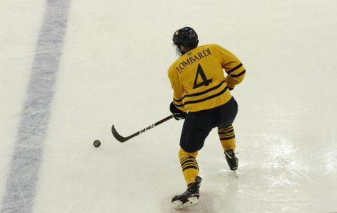 Men's Ice Hockey Kicks off Second Half with Colgate Clash