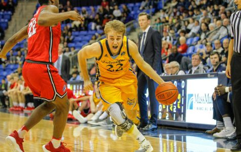 Men's Basketball Ends Regular Season With Home Loss to Manhattan
