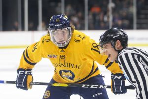 No. 1? No problem. Quinnipiac men's hockey takes down Cornell 5-0