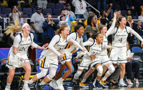 Women's Basketball Cruises to Championship Win, Heads Back to NCAA Tourney