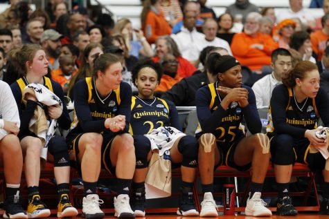 VIDEO: Quinnipiac women's basketball wins its second straight MAAC Championship