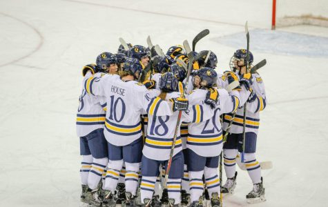 Four Bobcats Score First Career Goals in Women's Ice Hockey's Win
