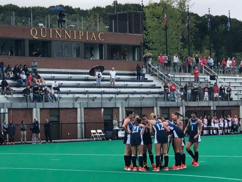 "How a tough out-of-conference schedule has left the Quinnipiac Field Hockey team ""knowing who we are"""