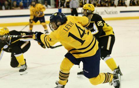 "Quinnipiac Men's Hockey ""Buys in,"" Tops Maine 4-3"