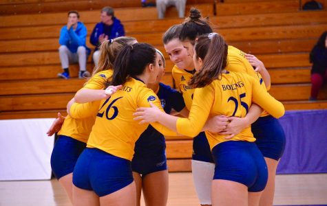 Quinnipiac Volleyball's Title Run Comes up Short Against Fairfield