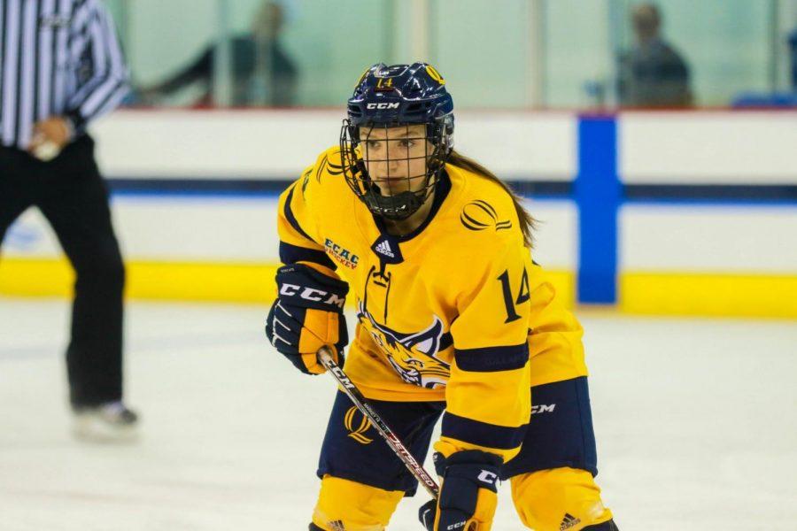 Quinnipiac Women's Hockey Stays Unbeaten in Five Straight, Beats Colgate 2-1