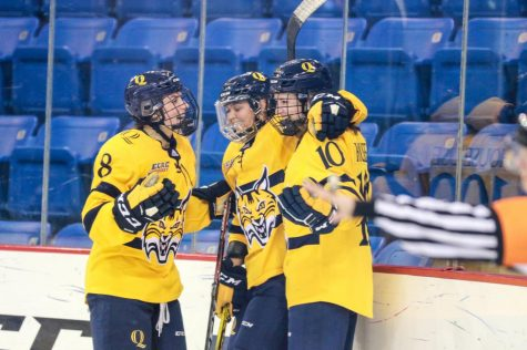 Women's hockey dominates RPI 5-1 on National Girls and Women in Sports Day