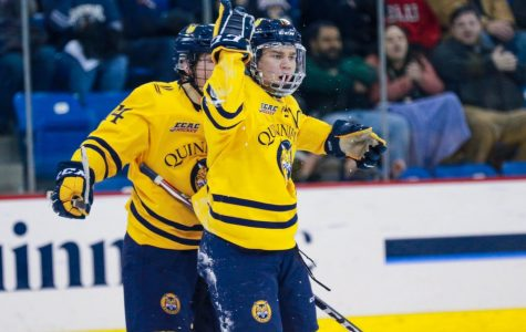 Quinnipiac men's ice hockey beats rival Yale at home on Saturday