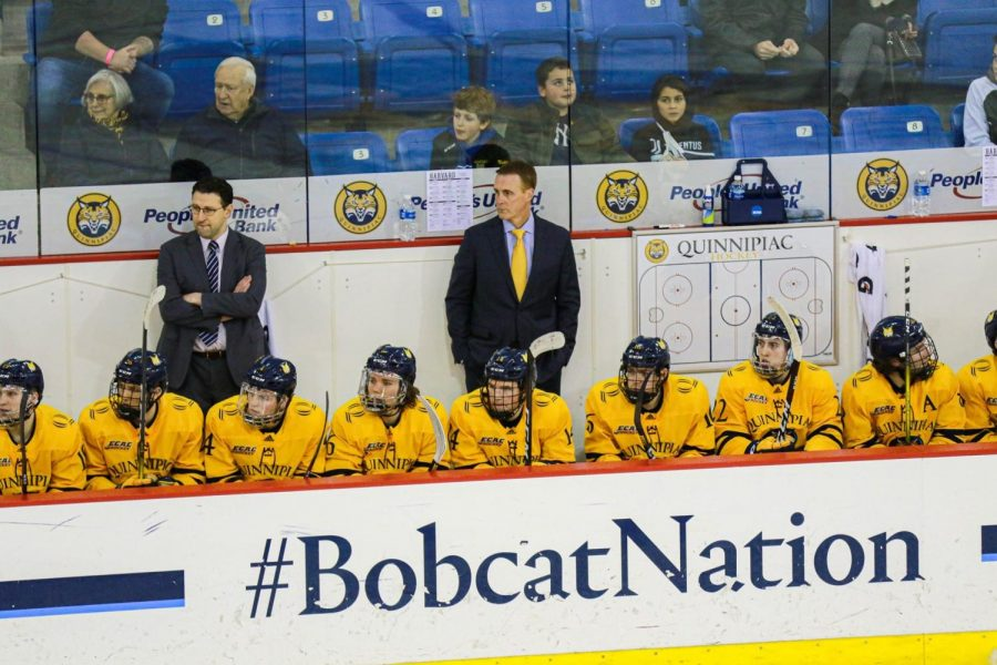 Quinnipiac men's ice hockey running out of time after loss to Clarkson