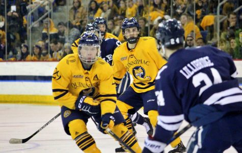 Quinnipiac continues rivalry with Yale in ECAC Hockey Playoffs