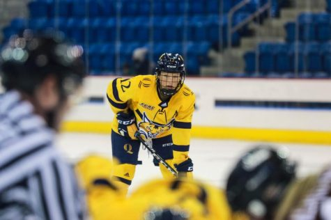 Four seniors named QU women's hockey captains