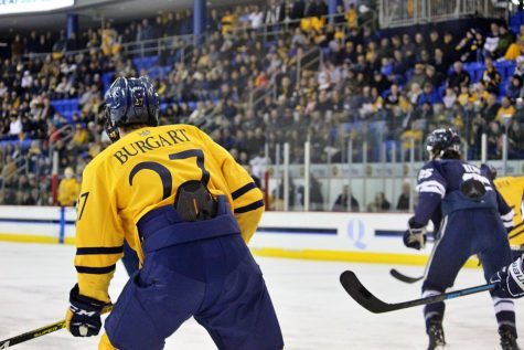Burgart the hero as Quinnipiac snags OT win over Clarkson